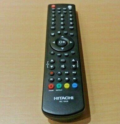 Genuine RC1910 Remote Control For Hitachi L19DG07UB