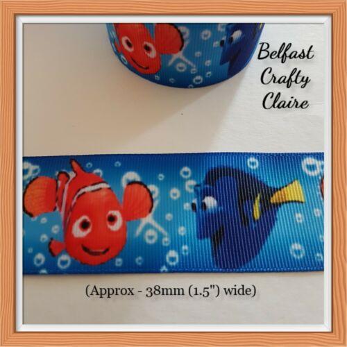 Disney-pantera Rosa-Nemo-Personajes-Cinta del Grosgrain 38mm de ancho