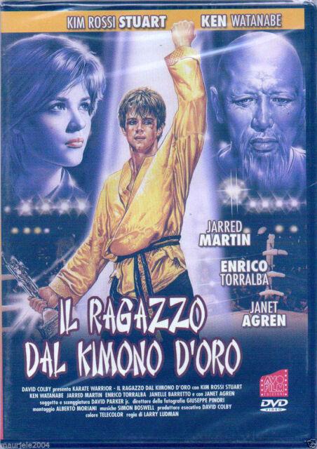 Il ragazzo dal kimono d'oro (1987) DVD NUOVO Kim Rossi Stuart Janet Agren Martin