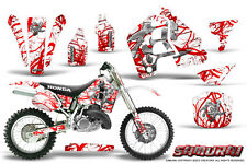 HONDA CR500 89-01 CR 500 GRAPHICS KIT CREATORX DECALS STICKERS SAMURAI RWNP