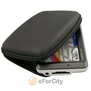 Black-Hard-Shell-Carry-Case-Cover-for-Garmin-4-3-034-GPS