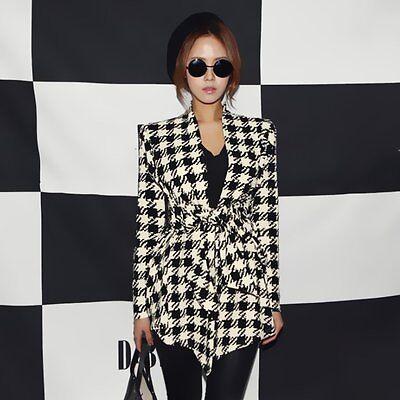 Fashion Women's Business Casual Long Sleeve Slim Suit Blazer Coat Jacket Outwear