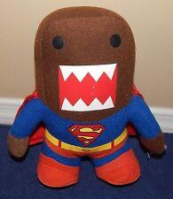 """9"""" Domo Kun in Superman Costume Plush Doll Stuffed Animal 2014"""