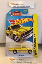 Datsun 620 #125 * YELLOW Kmart Only * 2015 Hot Wheels * L14