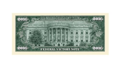Pack of 100 Donald Trump 2016 Federal Victory Limited Edition Novelty Dollars