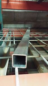 "1//2/'/' x 1//2/'/' x .065 Stainless Square Tube 180 Grit 60/"" Length"