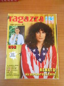 RON superposter ragazza IN n.24 - poster cm.48 X 74,5 - Italia - L'oggetto può essere restituito - Italia