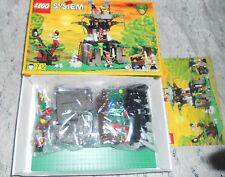 1996 LEGO #6046 CASTLE DARK FOREST HEMLOCK STRONGHOLD 213 PCS