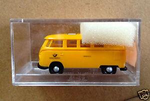 Brekina 3193 187 HO scale 1960039s VW Kombi DBP Fernmeldedienst Funkmesswagen - <span itemprop=availableAtOrFrom>Nottingham, United Kingdom</span> - Brekina 3193 187 HO scale 1960039s VW Kombi DBP Fernmeldedienst Funkmesswagen - Nottingham, United Kingdom