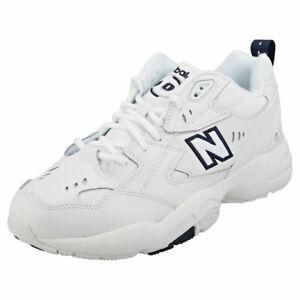 New Balance 608v1 Mens White Navy