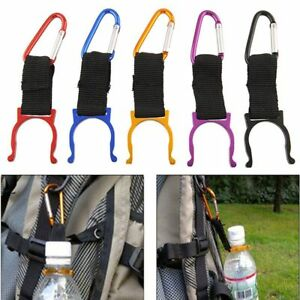 4Pc-Camping-Carabiner-Water-Bottle-Hook-Buckle-Holder-Clip-Climbing-Equipment