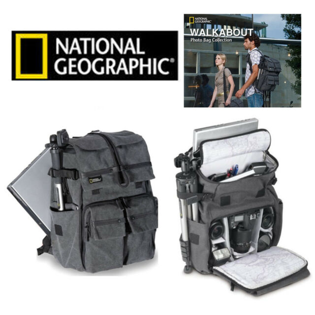 AU Practical Pro NG 5070 National Geographic Walkabout W5070 Camera Bag Backpack
