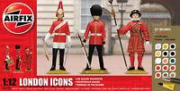 Airfix London Icons 1:12 Scale Plastic Model Set W/ Paint & Brushes A50131