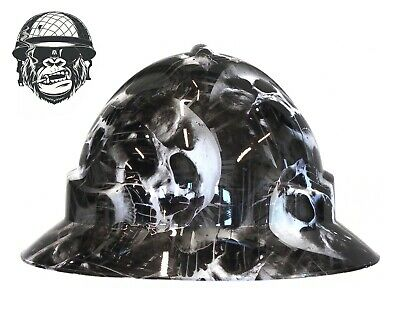 HARLEY QUINN WIDE Custom Hydrographic Safety Hard Hat Industrial Mining