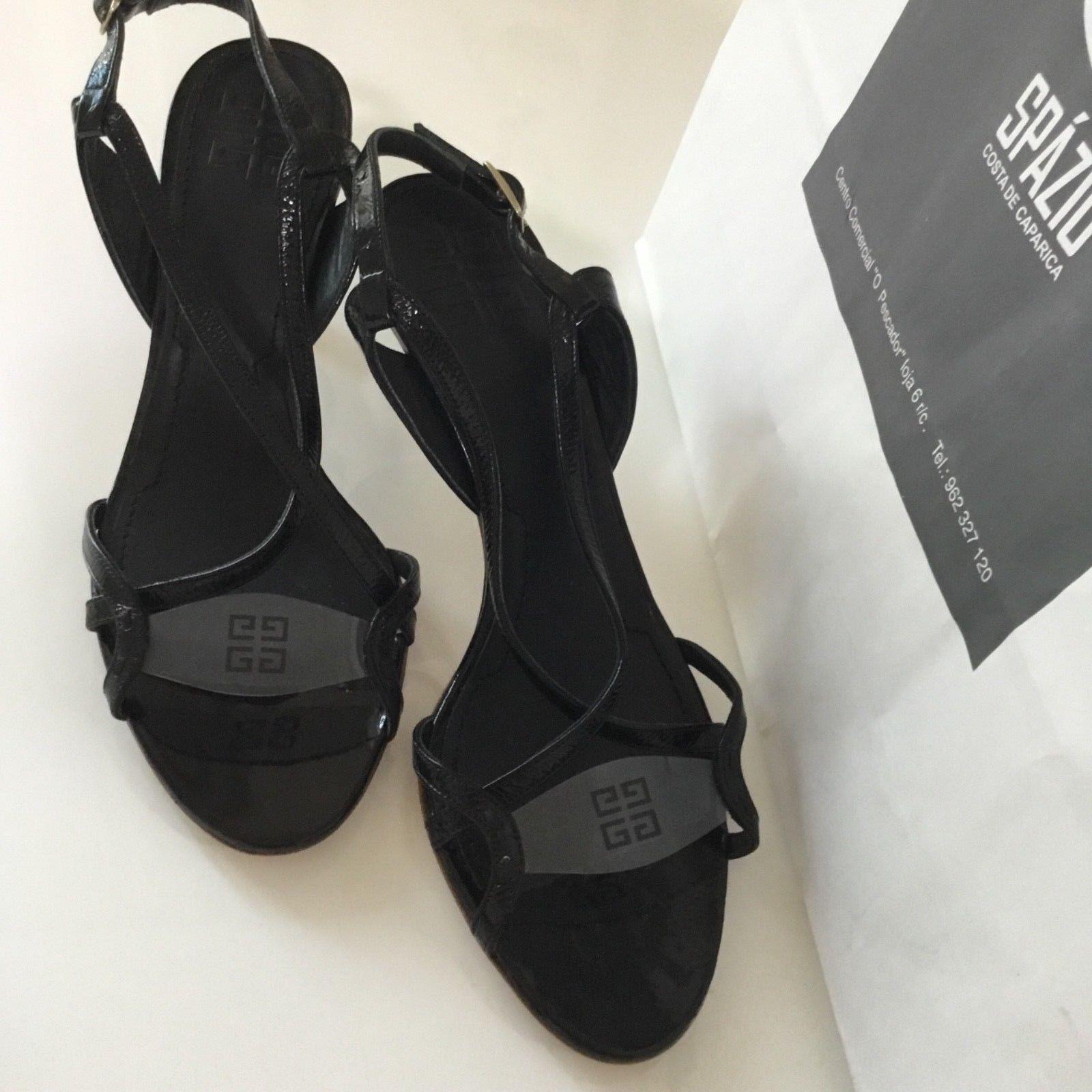 Nuove fantastiche donne Givenchy  originali 65533;s scarpe sandali dimensioni 37 nero Italia  migliore qualità
