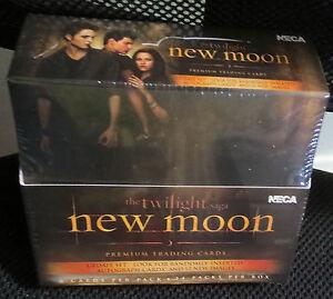 TWILIGHT-NEW-MOON-2-UPDATE-TRADING-CARDs-BOX-Autograph-Card-Robert-Pattinson