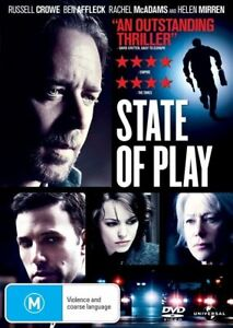 State-Of-Play-DVD-2009-Brand-New-amp-Sealed