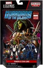 Marvel Legends Guardians of The Galaxy Series Gamora & Star-lord 2015 Hasbro MOC