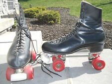 Reidell Vintage Mens Roller skates w/Chicago Custom GM 2 W/ EASY RIDER WHEELS