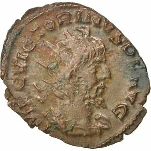 #65279 Au Billon 2.40 Products Are Sold Without Limitations Cohen #90 Victorinus Antoninianus 50-53