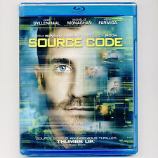 Source Code PG-13 2011 sci-fi action thriller movie, new Blu-ray Jake Gyllenhaal