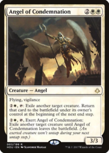 Magic the Gathering NM MTG 1x ANGEL OF CONDEMNATION Hour Angel