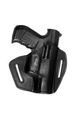 UX Leder Pistolen Holster Gürtelholster für 12f Grand Power K100 schwarz NEU