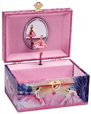 Ballerina Jewelry Box Girls Musical Music Dancing Iridescent Plays Swan Lake