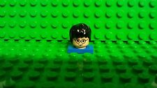 Lego Harry Potter head 2001 Yellow Face 1 sided with hair glasses scar NEW MINT.