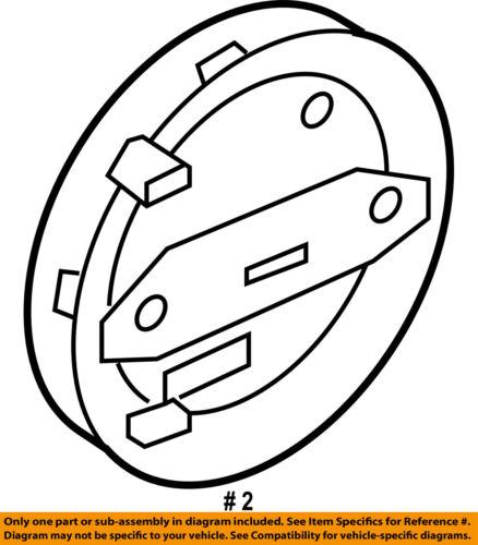 AUDI OEM 07-09 Q7 Outside Mirrors-Adjust Motor Left 7L6959577A 8-Pin