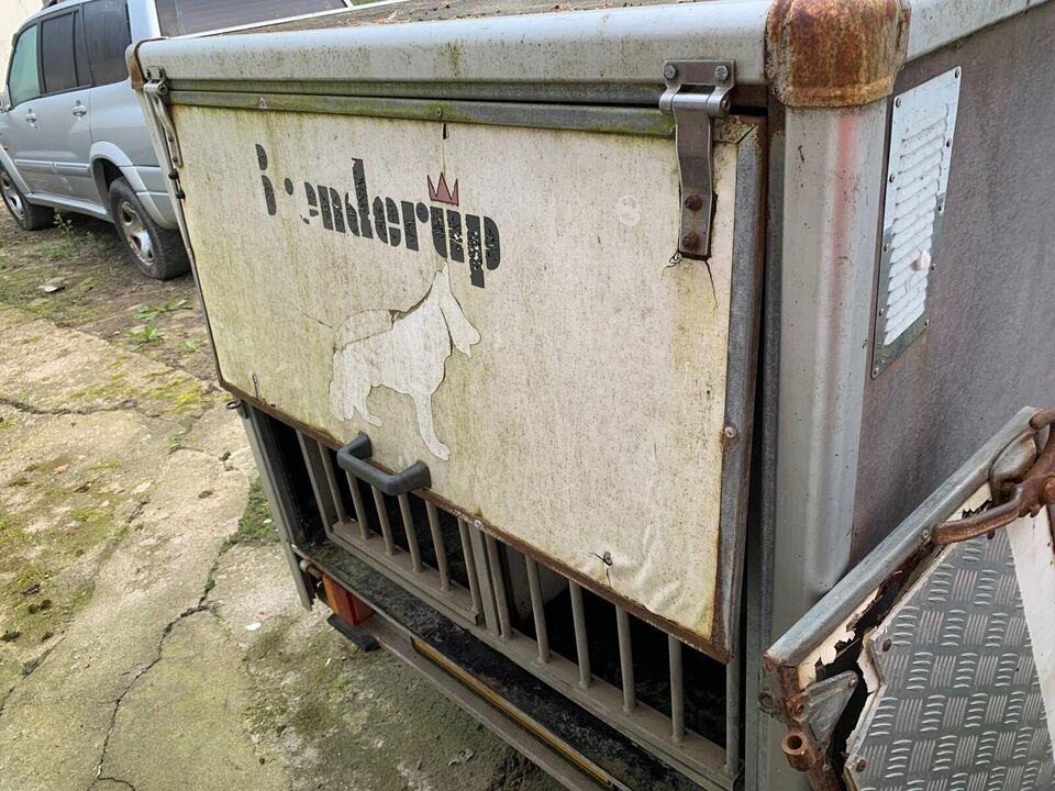 Hundetrailer, Branderup L 450, lastevne (kg): 175