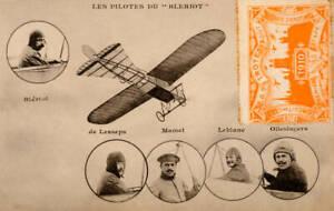The-Bleriot-Monoplane-Vintage-Aviation-1910-OLD-ILLUSTRATION-PHOTO