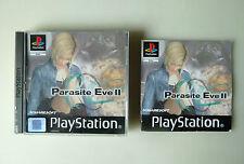 PARASITE EVE 2 PLAYSTATION PS1 PSONE PSX PAL ESPAÑA RARE