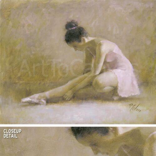 """35W/""""x28H/"""" INGENUE by RICHARD JUDSON ZOLAN BALLERINA BALLET DANCER Repro CANVAS"""
