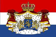 PREMIUM Aufkleber Niederlande Holland Wappen Autoaufkleber Fahne Auto Sticker