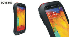 Love Mei Metallgehäuse Samsung Galaxy Note 3 spritz Wasserdicht Schutz schwarz