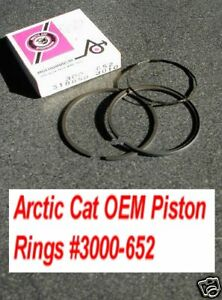 Arctic Cat 1972 Ext 292 Piston Rings 3000 652 Vintage Ebay
