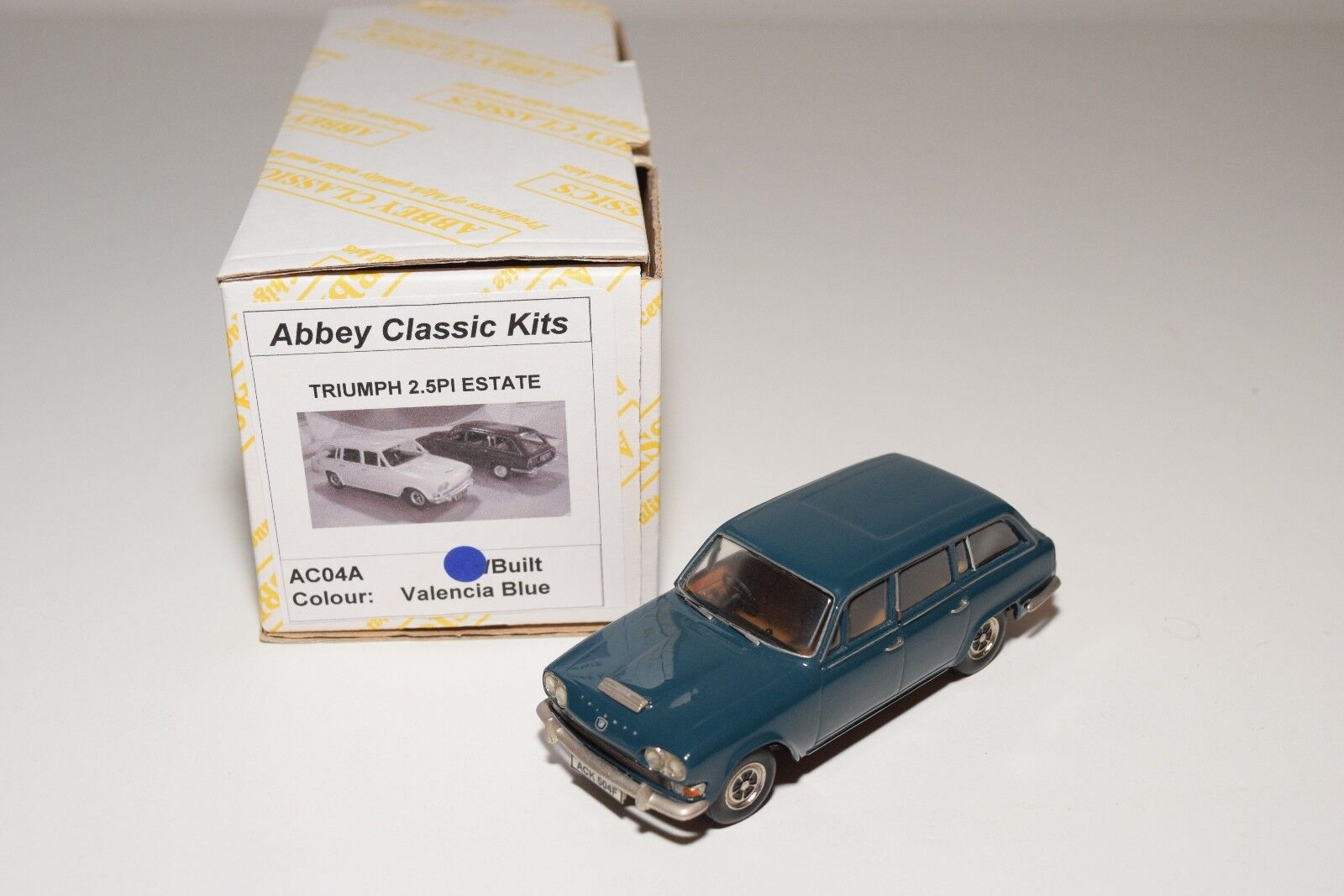 ABBEY CLASSIC KITS AC04A TRIUMPH 2.5PI ESTATE VALENCIA Azul MINT BOXED RARE