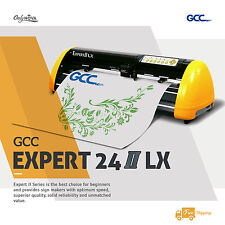 New Gcc Expert Lx 24 Vinyl Cutter Plotter With Free Software Free Shipping
