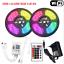 thumbnail 20 - 5M-10M-Smart-WIFI-LED-Strip-Light-Kit-5050-3528-SMD-RGB-APP-Controller-12V-Power