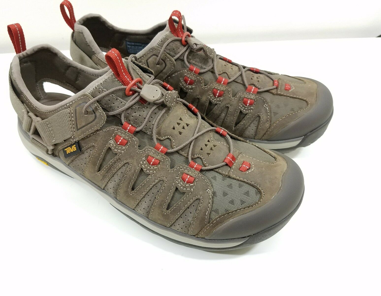 Teva Terra Float Active Lace Men's Size 11.5 shoes Water Sport Sandal Hike Walnut