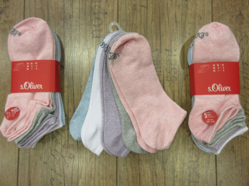 s.Oliver 15 Paar Damensneaker Socken,35-38 oder 39-42,tolle Farben Toppreis