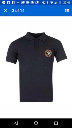 Etichette Nuovo di zecca con taglia XXL blu scuro con Badge Helly Hanson lavoro T-shirt