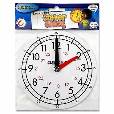 Clever Kids Learn & Play Magnetic Clock