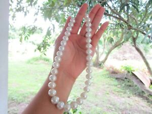South Sea Pearl White Gold Necklace 18k codeNx11 sep