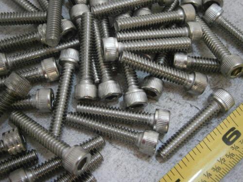 """Cap Screws #10//24 x 1/"""" Long Socket Head Stainless Steel Lot of 30 #5140"""