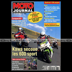 Aimable Moto Journal N°1173 Yamaha Fzr 600 R, Bimota Yb9, Mbk 50 Fizz, Jack Findlay 1995