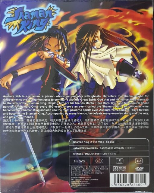 Anime DVD Shaman King Complete TV Series Episode 1-64 End English Sub Ship