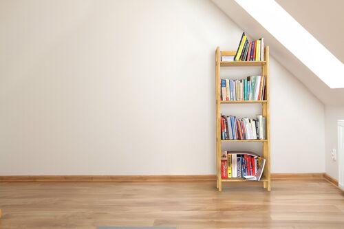 Stony-Edge FBC-16-NA No Assembly Folding Bookcase Natural Wood