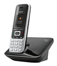Gigaset S850 platin/schwarz Schnurlostelefon, 12 Std. Sprechzeit, 500 Adresseint